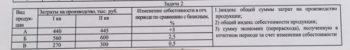 Вид продукции Затраты на производство, тыс. руб. Изменение себестоимости в отчётном периоде по сравнению с базисным периодом, % I кв. II кв. А 440 445 3 Б 56